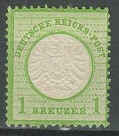 Deutsches Reich 1872 -1 Kr. ☀ Großer Schild ☀ Ungebraucht Mit Gummi - Ungebraucht