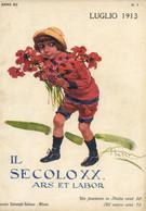 COP 116 - COPERTINA ORIGINALE - IL SECOLO XX - LUGLIO 1913 - FIRMATA ALDO MAZZA - Non Classés