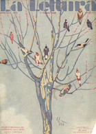 COP 102 - COPERTINA ORIGINALE - LA LETTURA - MARZO 1929 - FIRMATA ENRICO SACCHETTI - Non Classés