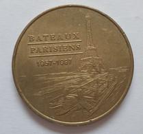 Jeton Monnaie De Paris   Bateaux Parisiens 1957 - 1997 . ..ETAT BON. VOIR SCAN SI DEFAUT - Unclassified