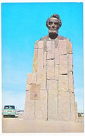 CPSM 9 X 14 Etats Unis USA (116) Wyoming LINCOLN MONUMENT At Top Of Sherman Hill Between Cheyenne And Laramie On Highway - Unclassified
