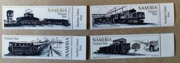 Namibia 2017.  Railway Transport. Trains. Locomotives. MNH. - Namibia (1990- ...)