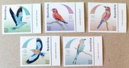 Namibia 2017.  Fauna. Birds.  MNH. - Namibia (1990- ...)