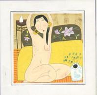 Autres Collections - Dessin Original (au Crayon Gras ?)  Non Signé- Femme Nue - Dessins