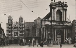 Dijon - Chambre De Commerce (Ancienne Eglise St-Etienne) Et Eglise St Michel / Estel - Dijon