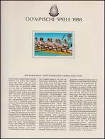 Olympische Spiele 1988 Seoul - Paraguay Marke Aufdruck MUESTRA, Rudern Achter ** - Otros