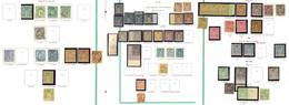 ** Collection. 1876-1900 (Poste), Entre Les N°61 Et 106, Des Ex * Et Des Obl. - TB - 1876-1878 Sage (Typ I)