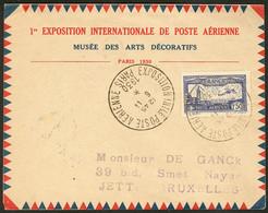 Lettre EIPA 30. No 6c, Obl Grand Cachet 6.11.30 De L'Exposition, Sur Enveloppe à En-tête Pour Bruxelles. - TB - Zonder Classificatie