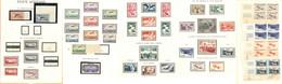 * Collection. 1927-1987, Complète Sauf N°3, 4, 6c, 6d, Dont Les 1, 2 Et 14**, Des Bloc De Quatre Cd Dont 30/33. - TB - Zonder Classificatie