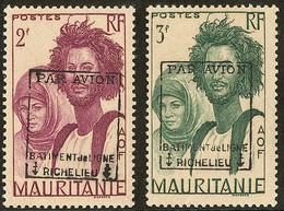 ** Richelieu. Mauritanie. Nos 4, 5 (léger Manque De Gomme Sur Deux Dents). - TB - Militaria