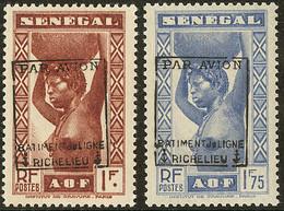 ** Richelieu. Sénégal. Nos 6, 7. - TB - Militaria