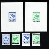 1366010296 1960 SCOTT 388 C124 (XX) POSTFRIS MINT NEVER HINGED EINWANDFREI  - WORLD REFUGEE YEAR - Liberia