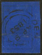 GUYANE BRITANNIQUE. No 6, Bleu Outremer, Des Défauts Mais TB D'aspect. - R - British Guiana (...-1966)
