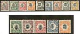 * TANGANYIKA. Nos 1 à 14. - TB - Tanganyika (...-1932)