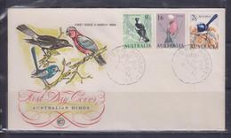 Australia 1964 Magpie, Blue Wren, Parrot, Birds WCS FDC - Primo Giorno D'emissione (FDC)