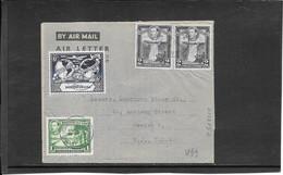 British Guiana 1949, Cover To Usa ( Philatelic Dealer ) (Ref 2674) - British Guiana (...-1966)