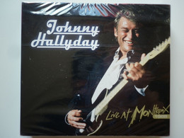 Johnny Hallyday Double Cd Album + Dvd Digipack Live At Montreux 1988 - Non Classificati