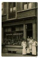 """Liège - Commerce - Boucherie Charcuterie """"Rue Puits En Sock"""" - 2 Scans. - Liege"""