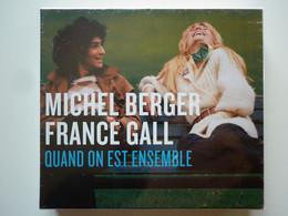 Michel Berger / France Gall Coffret 4 Cd Album Digipack Quand On Est Ensemble - Non Classificati