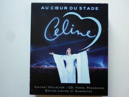 Celine Dion Coffret Collector Cd + Vhs + Programme Au Cœur Du Stade - Non Classificati