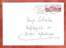 Brief, Langhans Sk, MS Landeshauptstadt Saarbruecken Briefzentrum 66, Nach Ofterdingen 2008 (5294) - Briefe U. Dokumente