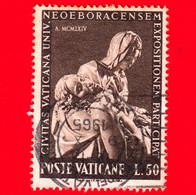 VATICANO - Usato - 1964 - Partecipazione Vaticana All'esposizione Universale Di New York - 50 L. • La Pietà, Di Michelan - Usati