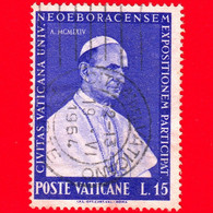 VATICANO - Usato - 1964 - Partecipazione Vaticana All'esposizione Universale Di New York - 15 L. • Paolo VI - Usati