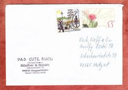 Brief, Rosengruss Sk U.a., Briefzentrum 64, Heppenheim Nach Stuttgart 2003 (5297) - Briefe U. Dokumente