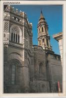 ZARAGOZA, SARAGOSSA - Torre Y Cimborrio De La Catedral De La Seo Tres Estilos, Detalle, Nice Stamp - Zaragoza