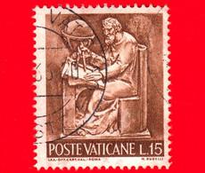 VATICANO - Usato - 1966 - Il Lavoro Dell'uomo - 15 L. • Scienze - Usati