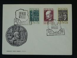 FDC Lénine Lenin Communism 1962 Pologne Poland Ref 101154 - Lenin