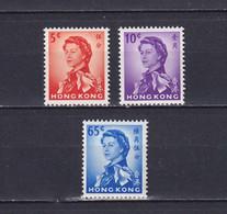 HONG KONG 1962/73, SG# 196-204, Part Set, Elizabeth II, MH - Unused Stamps