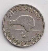 @Y@   Nieuw Zeeland 1 Florin  1951      (4447) - Nuova Zelanda