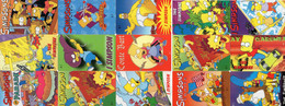 UNITED STATES - PREPAID - PROMOCARD - THEMATIC CARTOON COMIC - THE SIMPSONS - 15 CARDS - Unclassified