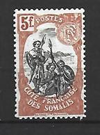 Timbre Colonie Francaises  Cote Des Somalis En Neuf ** N 66 - Neufs