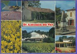 Carte Postale 83. Saint-Antonin-du-Vat   La Cave Coopérative  Cigale   Très Beau Plan - Other Municipalities