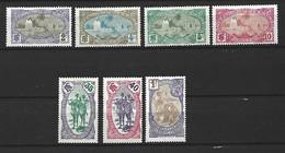 Timbre Colonie Francaises  Cote Des Somalis En Neuf ** N 68/69/70/71/75/76/80 - Neufs