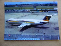 BRITISH CALEDONIAN   BAC 1-11    G-AWWZ   AEROPORT DU BOURGET / COLLECTION VENIANT N°48 - 1946-....: Modern Era