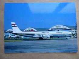 EGYPTAIR  B 707  SU-APD   AEROPORT DU BOURGET / COLLECTION VENIANT N°49 - 1946-....: Modern Era