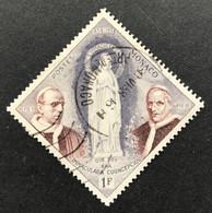 MCO0492U - 100th Anniversary Of Apparition Of Virgin Mary At Lourdes - 1 F Used Stamp - Monaco - 1958 - Gebruikt