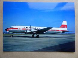 KAR AIR  DC -6   OH-KDB     AEROPORT DU BOURGET / COLLECTION VENIANT N°52 - 1946-....: Modern Era