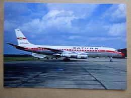 SATURN  DC 8  N8008F     AEROPORT DU BOURGET / COLLECTION VENIANT N°53 - 1946-....: Modern Era