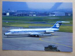 KLM  DC 9  PH-DNH    AEROPORT DU BOURGET / COLLECTION VENIANT N°55 - 1946-....: Modern Era