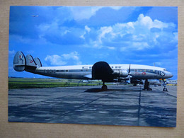 CATAIR  SUPER CONSTELLATION  F-BGNB   AEROPORT DU BOURGET / COLLECTION VENIANT N°58 - 1946-....: Modern Era