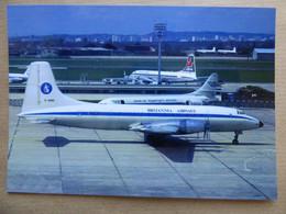 BRITANNIA AIRWAYS  BRISTOL BRITANNIA  G-ANBE      AEROPORT DU BOURGET / COLLECTION VENIANT N°60 - 1946-....: Modern Era