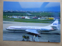 SAS   CARAVELLE   SE-DAH      AEROPORT DU BOURGET / COLLECTION VENIANT N°61 - 1946-....: Modern Era