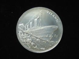 Médaille - Le TITANIC - Républic Of Liberia 2006   **** EN ACHAT IMMEDIAT **** - Professionals / Firms