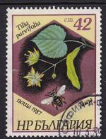 Bulgaria 1987, Insect, Bee, Minr 3586, Vfu - Gebraucht