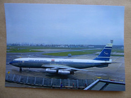 SYRIAN ARAB AIRLINES  B 707  G-APFB   AEROPORT DU BOURGET / COLLECTION VENIANT N°65 - 1946-....: Modern Era
