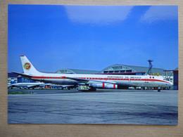AERONAVES DE MEXICO  DC 8-63   N4866T    AEROPORT DU BOURGET / COLLECTION VENIANT N°67 - 1946-....: Modern Era